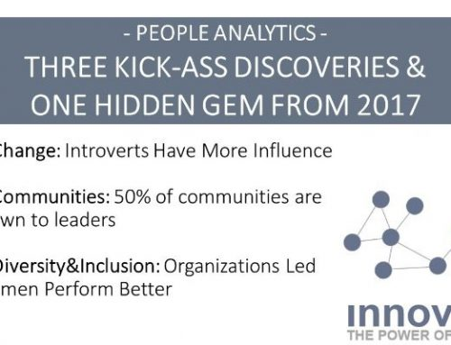 People Analytics: Three Kick-Ass Discoveries & One Hidden Gem from 2017