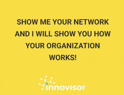 Show me your network and I will show you how your organization works!
