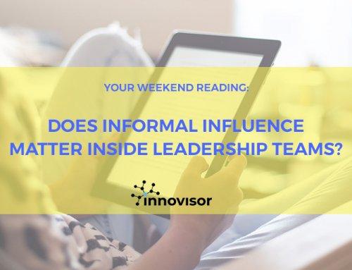 Does Informal Influence Matter Inside Leadership Teams?