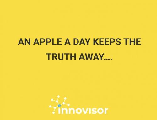 An apple a day keeps the truth away….