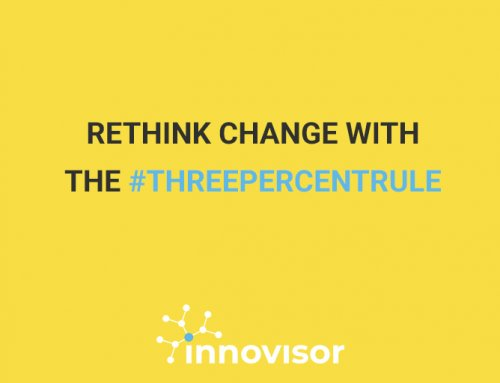 Rethink Change with the #ThreePercentRule