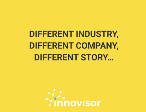 Different industry, different company, different story…