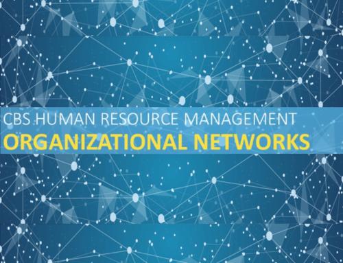 CBS Human Resource Management –  Organizational Networks