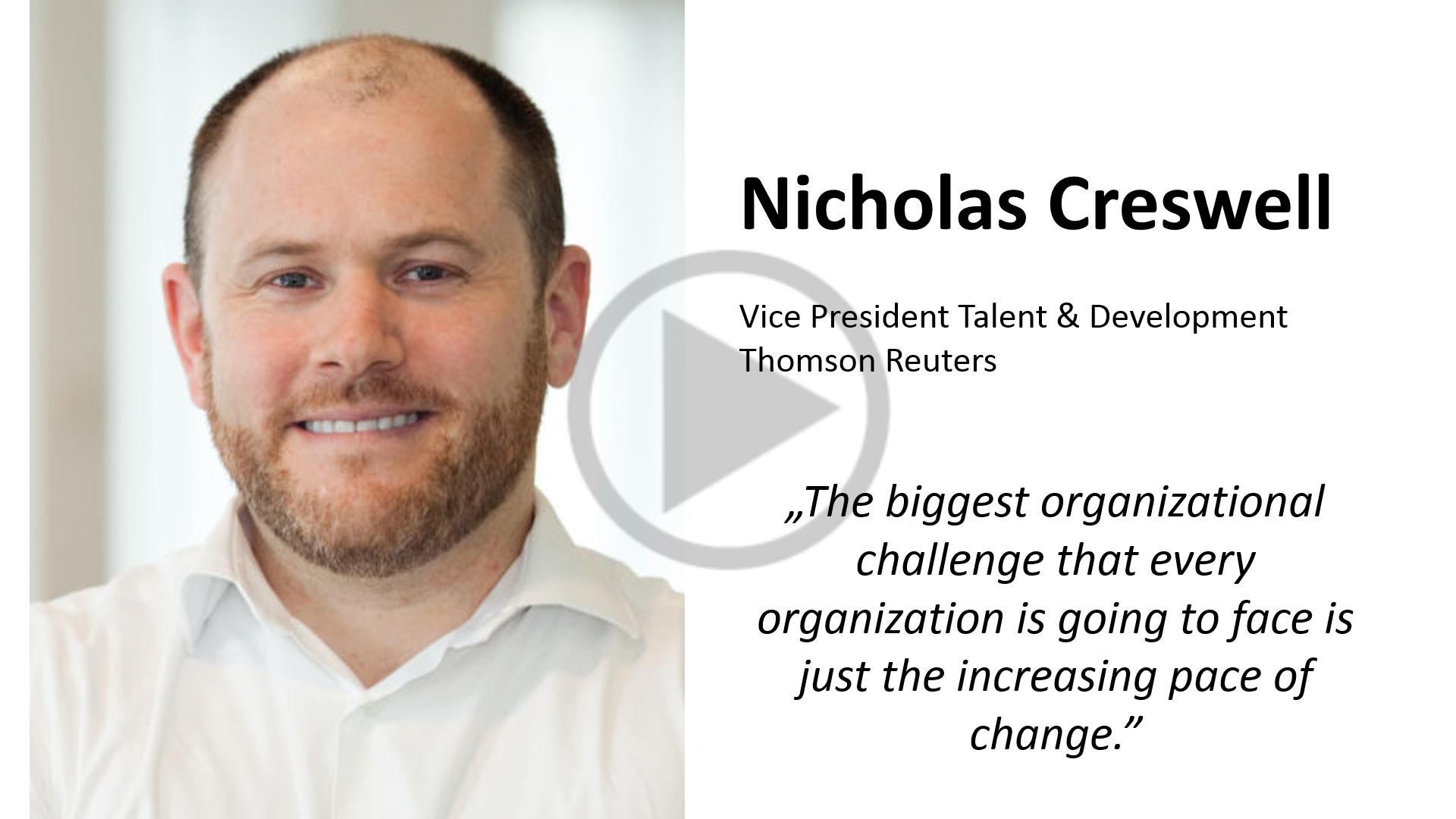 Nicholas Creswell - Thomson Reuters