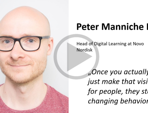 Client Stories – Peter Manniche Riber, Head of Digital Learning at Novo Nordisk