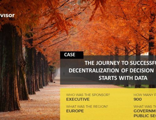 The Journey to Successful Decentralization Starts with Data