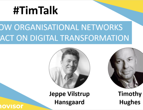 #TimTalk – How Organisational Networks Impact on Digital Transformation with Jeppe Hansgaard