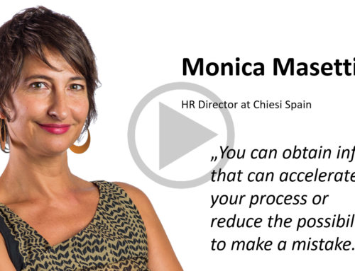 Client Stories – Monica Masetti, HR Director at Chiesi Spain