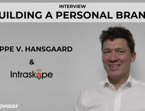 Personal Branding with Jeppe Vilstrup Hansgaard