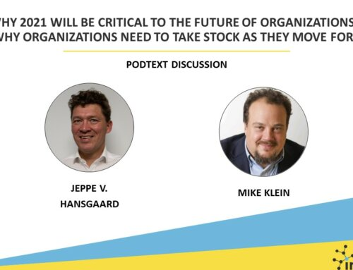 Why 2021 will be critical to the future of organizations?