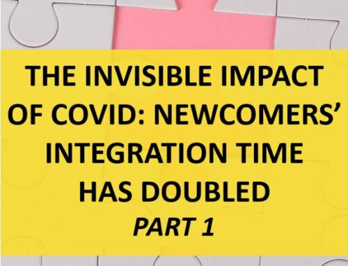 The Invisible Impact of COVID: Newcomers' Integration Time Has Doubled (part 1)