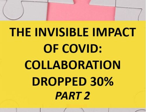 Invisible Impact of COVID: Collaboration Dropped 30% (part 2)