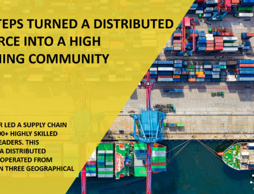 How 3 Steps Turned a Distributed Workforce Into a High Performing Community