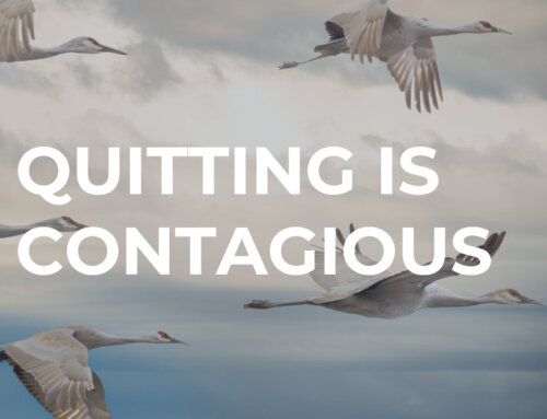 Quiting is Contagious